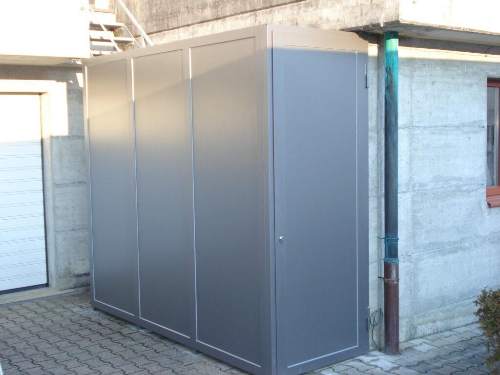 Stahlboxen für Gartengeräte